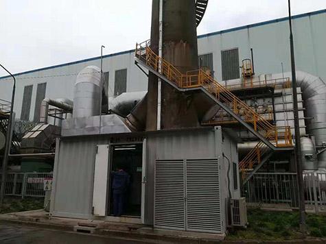 上海宝钢股份VOCs在线监测系统