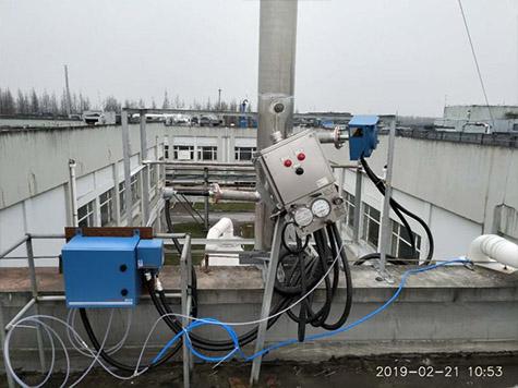上海迪赛诺药业VOCs在线监测系统