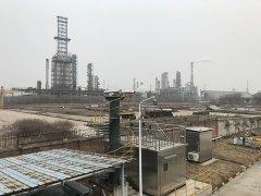 中石化扬子石化园区边界苯系物和氨气监